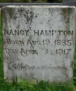 HAMPTON, NANCY - Marion County, Arkansas   NANCY HAMPTON - Arkansas Gravestone Photos