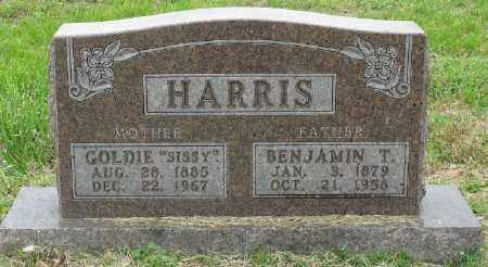 "REED HARRIS, GOLDIE ""SISSY"" - Marion County, Arkansas 