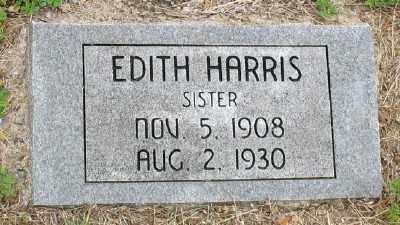 HARRIS, EDITH - Marion County, Arkansas | EDITH HARRIS - Arkansas Gravestone Photos