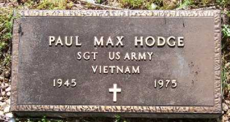 HODGE (VETERAN VIET), PAUL MAX - Marion County, Arkansas | PAUL MAX HODGE (VETERAN VIET) - Arkansas Gravestone Photos