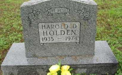 HOLDEN, HAROLD D - Marion County, Arkansas   HAROLD D HOLDEN - Arkansas Gravestone Photos