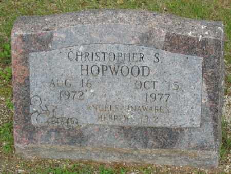HOPWOOD, CHRISTOPHER S. - Marion County, Arkansas | CHRISTOPHER S. HOPWOOD - Arkansas Gravestone Photos