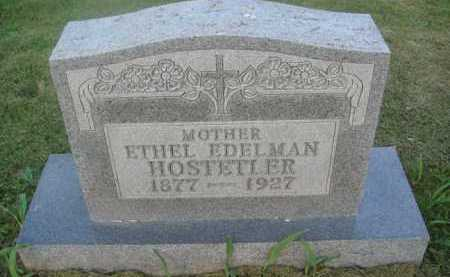 HOSTETLER, ETHEL - Marion County, Arkansas | ETHEL HOSTETLER - Arkansas Gravestone Photos
