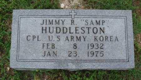 "HUDDLESTON  (VETERAN KOR), JIMMY R. ""SAMP"" - Marion County, Arkansas | JIMMY R. ""SAMP"" HUDDLESTON  (VETERAN KOR) - Arkansas Gravestone Photos"