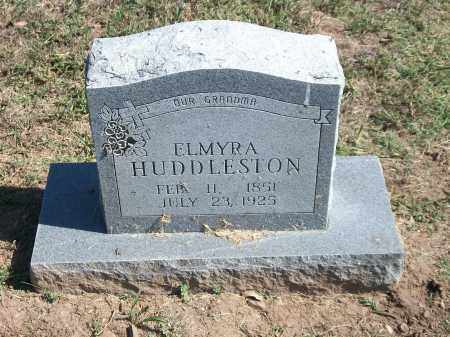 HUDDLESTON, ELMYRA - Marion County, Arkansas | ELMYRA HUDDLESTON - Arkansas Gravestone Photos