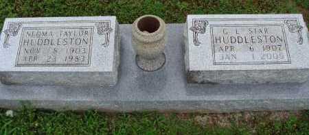 "HUDDLESTON, G. L. ""STAR"" - Marion County, Arkansas | G. L. ""STAR"" HUDDLESTON - Arkansas Gravestone Photos"