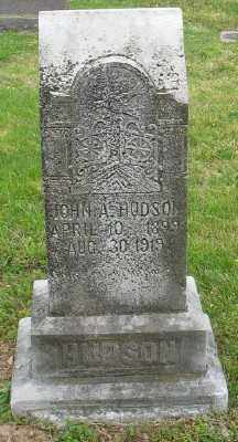 HUDSON, JOHN A. - Marion County, Arkansas | JOHN A. HUDSON - Arkansas Gravestone Photos