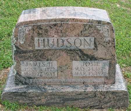 BURNS HUDSON, JOSIE - Marion County, Arkansas | JOSIE BURNS HUDSON - Arkansas Gravestone Photos
