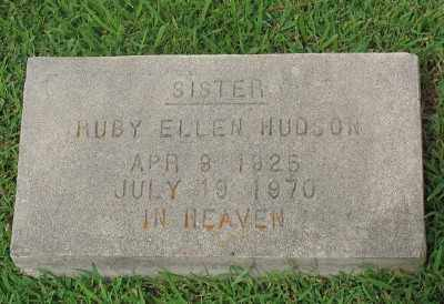 RECTOR HUDSON, RUBY ELLEN - Marion County, Arkansas | RUBY ELLEN RECTOR HUDSON - Arkansas Gravestone Photos