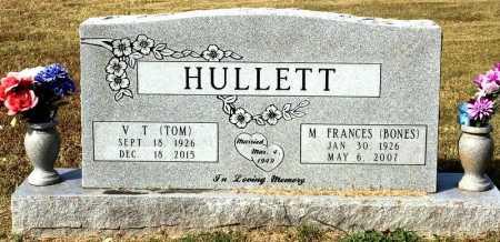 HULLETT, M. FRANCES - Marion County, Arkansas | M. FRANCES HULLETT - Arkansas Gravestone Photos