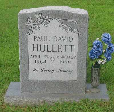 HULLETT, PAUL DAVID - Marion County, Arkansas | PAUL DAVID HULLETT - Arkansas Gravestone Photos