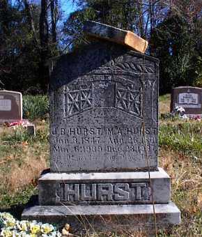 BURCH HURST, M. A. (MARY ANN) - Marion County, Arkansas | M. A. (MARY ANN) BURCH HURST - Arkansas Gravestone Photos