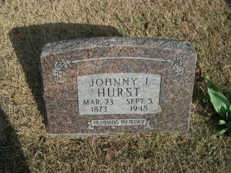 HURST, JOHNNY J. - Marion County, Arkansas   JOHNNY J. HURST - Arkansas Gravestone Photos