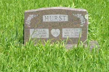 HURST, WALTER - Marion County, Arkansas | WALTER HURST - Arkansas Gravestone Photos