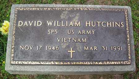 HUTCHINS (VETERAN VIET), DAVID WILLIAM - Marion County, Arkansas   DAVID WILLIAM HUTCHINS (VETERAN VIET) - Arkansas Gravestone Photos