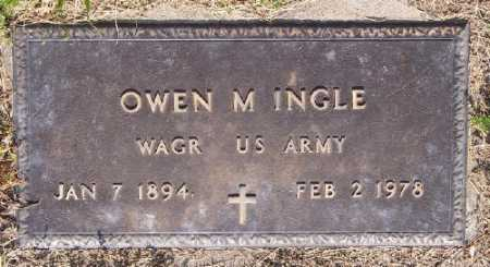 INGLE (VETERAN WWI), OWEN M. - Marion County, Arkansas | OWEN M. INGLE (VETERAN WWI) - Arkansas Gravestone Photos