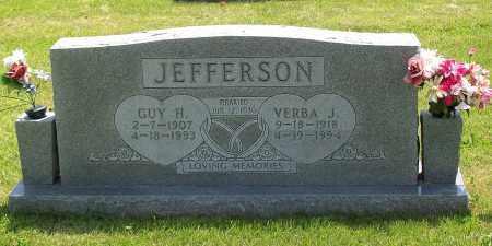 JEFFERSON, VERBA J. - Marion County, Arkansas | VERBA J. JEFFERSON - Arkansas Gravestone Photos