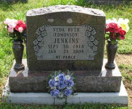 EDMONSON JENKINS, VEDA RUTH - Marion County, Arkansas   VEDA RUTH EDMONSON JENKINS - Arkansas Gravestone Photos