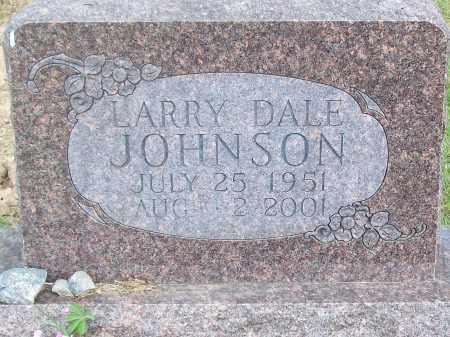 JOHNSON, LARRY DALE - Marion County, Arkansas   LARRY DALE JOHNSON - Arkansas Gravestone Photos