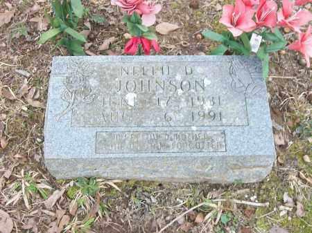 GRAHAM JOHNSON, NELLIE D. - Marion County, Arkansas | NELLIE D. GRAHAM JOHNSON - Arkansas Gravestone Photos