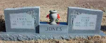 JONES, EMMA - Marion County, Arkansas | EMMA JONES - Arkansas Gravestone Photos