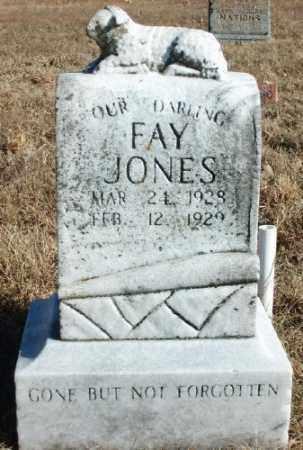 JONES, FAY - Marion County, Arkansas   FAY JONES - Arkansas Gravestone Photos