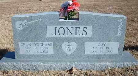 YOCHAM JONES, GEAN - Marion County, Arkansas | GEAN YOCHAM JONES - Arkansas Gravestone Photos