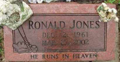 JONES, RONALD - Marion County, Arkansas | RONALD JONES - Arkansas Gravestone Photos