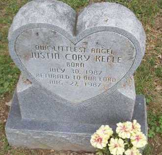 KEELE, JUSTIN CORY - Marion County, Arkansas | JUSTIN CORY KEELE - Arkansas Gravestone Photos