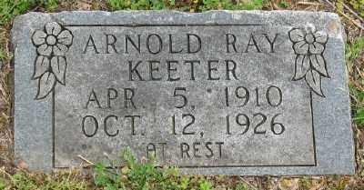 KEETER, ARNOLD RAY - Marion County, Arkansas   ARNOLD RAY KEETER - Arkansas Gravestone Photos
