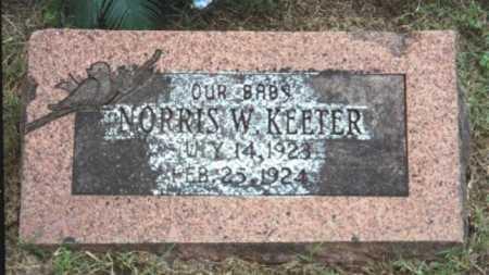 KEETER, NORRIS W. - Marion County, Arkansas | NORRIS W. KEETER - Arkansas Gravestone Photos