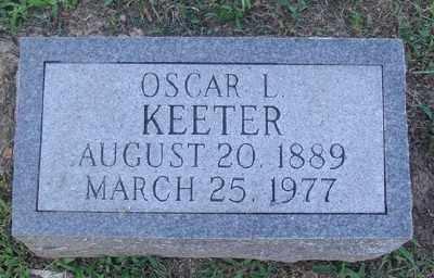 KEETER, OSCAR L. - Marion County, Arkansas | OSCAR L. KEETER - Arkansas Gravestone Photos