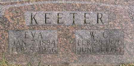 DEPRIEST KEETER, EVA - Marion County, Arkansas | EVA DEPRIEST KEETER - Arkansas Gravestone Photos