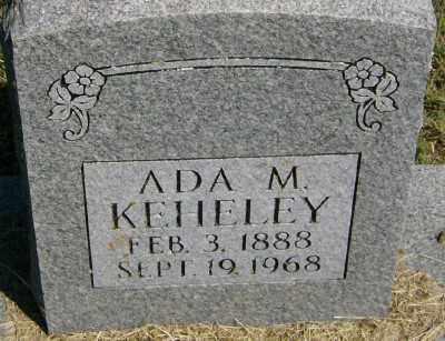 KEHELEY, ADA M. - Marion County, Arkansas | ADA M. KEHELEY - Arkansas Gravestone Photos