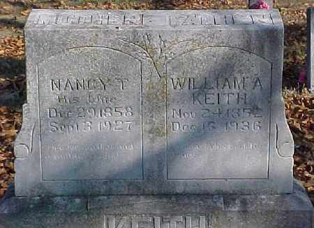 KEITH, WILLIAM A. - Marion County, Arkansas | WILLIAM A. KEITH - Arkansas Gravestone Photos