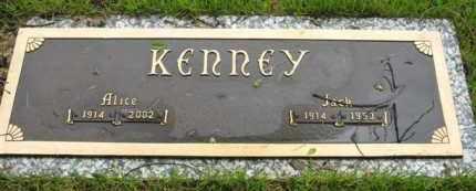KENNEY, JACK - Marion County, Arkansas | JACK KENNEY - Arkansas Gravestone Photos