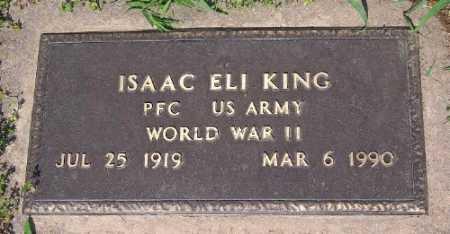 KING (VETERAN WWII), ISAAC ELI - Marion County, Arkansas | ISAAC ELI KING (VETERAN WWII) - Arkansas Gravestone Photos