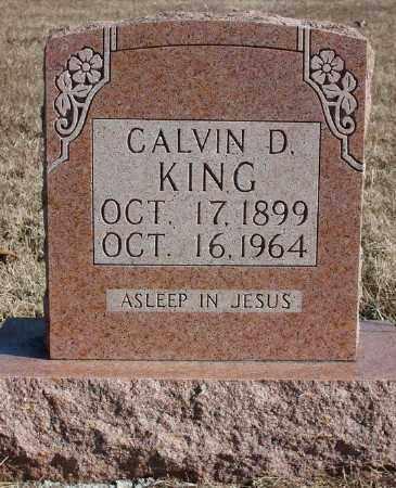 KING, CALVIN D. - Marion County, Arkansas   CALVIN D. KING - Arkansas Gravestone Photos