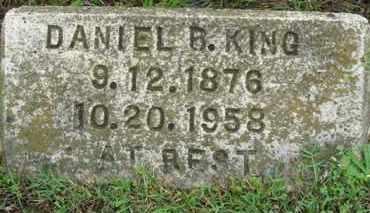 KING, DANIEL B. - Marion County, Arkansas | DANIEL B. KING - Arkansas Gravestone Photos