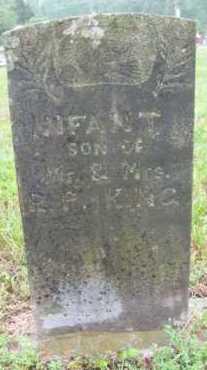 KING, INFANT SON - Marion County, Arkansas | INFANT SON KING - Arkansas Gravestone Photos