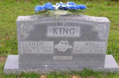 "BEST KING, JANIE LILLIAN GAY ""LILLIE"" - Marion County, Arkansas 