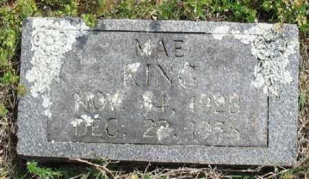 KING, MAE - Marion County, Arkansas   MAE KING - Arkansas Gravestone Photos