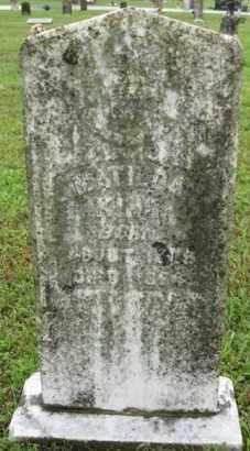 KING, MATILDA - Marion County, Arkansas | MATILDA KING - Arkansas Gravestone Photos