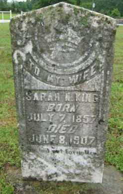 FROST KING, SARAH N. - Marion County, Arkansas | SARAH N. FROST KING - Arkansas Gravestone Photos