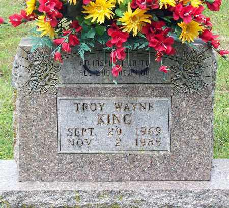 KING, TROY WAYNE - Marion County, Arkansas | TROY WAYNE KING - Arkansas Gravestone Photos