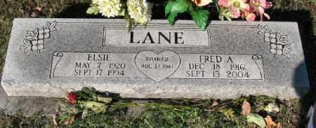 LANE, ELSIE - Marion County, Arkansas   ELSIE LANE - Arkansas Gravestone Photos
