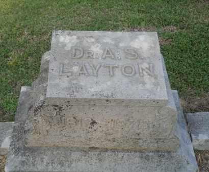 LAYTON SR., AUGUSTUS SLAUGHTER - Marion County, Arkansas | AUGUSTUS SLAUGHTER LAYTON SR. - Arkansas Gravestone Photos