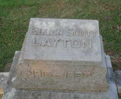 LAYTON, ELLEN - Marion County, Arkansas | ELLEN LAYTON - Arkansas Gravestone Photos