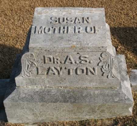 LAYTON, SUSAN - Marion County, Arkansas | SUSAN LAYTON - Arkansas Gravestone Photos