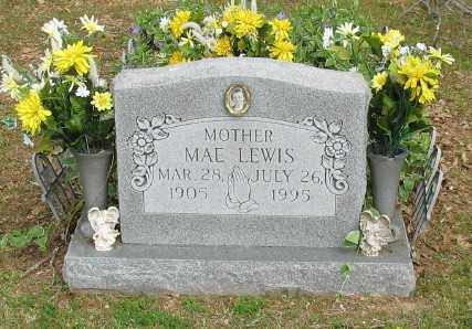 LEWIS, MAE - Marion County, Arkansas | MAE LEWIS - Arkansas Gravestone Photos